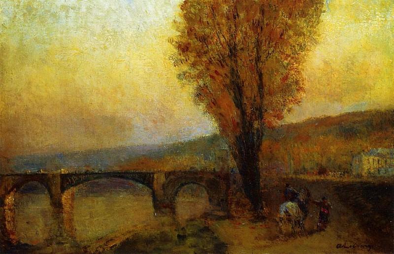 Bridge and Rider. Albert-Charles Lebourg
