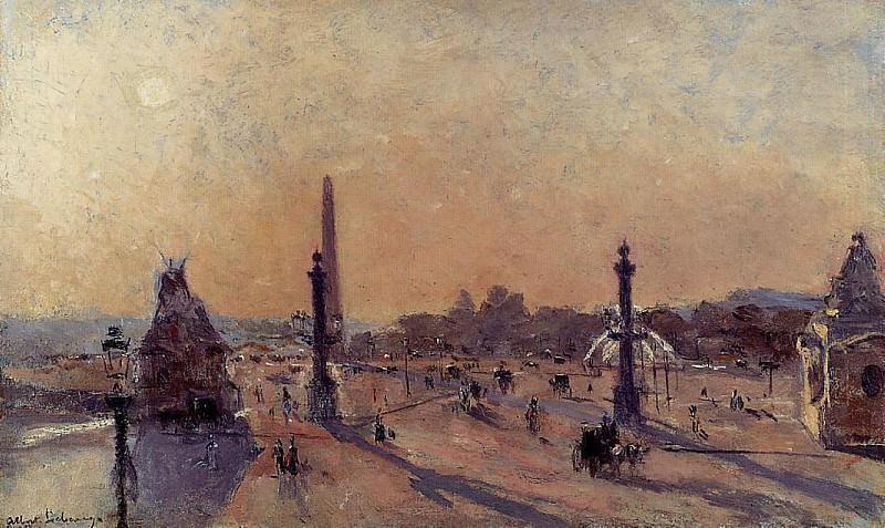 Площадь Согласия. Альбер-Шарль Лебур