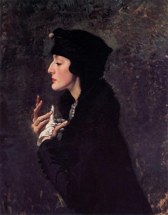 Miss Helene Beauclerk. George Lambert