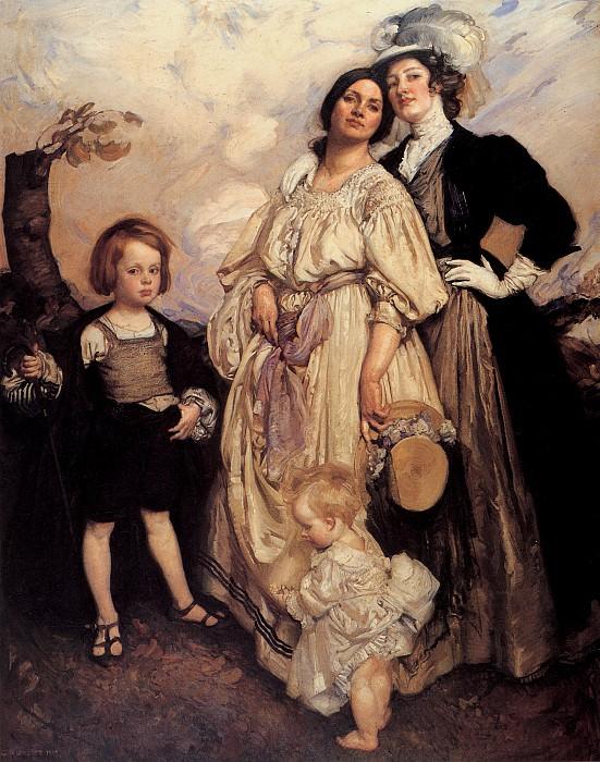Групповой портрет. Джордж Ламберт