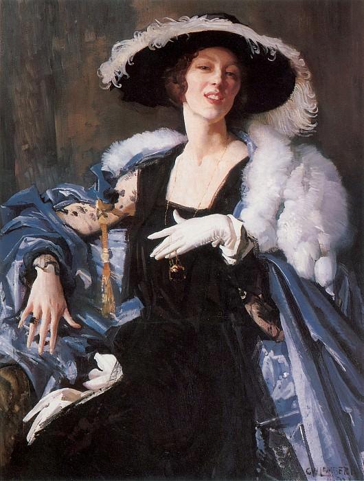 The White Glove. George Lambert