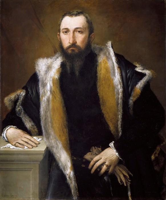Portrait of Febo da Brescia. Lorenzo Lotto