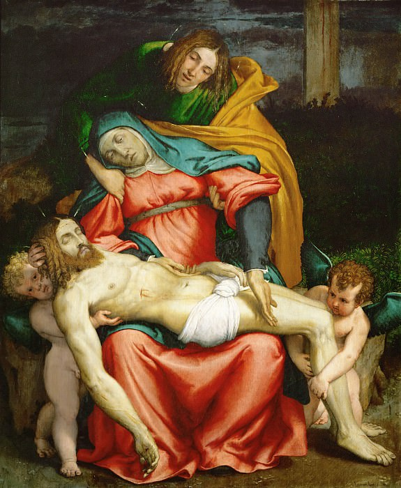 Pieta. Lorenzo Lotto