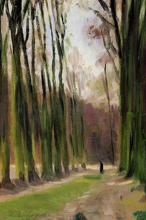 Lanceray Yevgeny Alley in Versailles Sun. Евгений Лансере