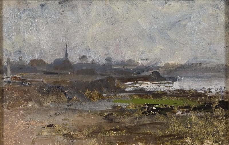 Misty Shore. Study. Emma Lowstadt-Chadwick