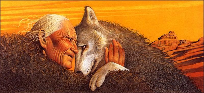 bs-ill- Margo Lemieux- Paul And The Wolf. Margo Lemieux