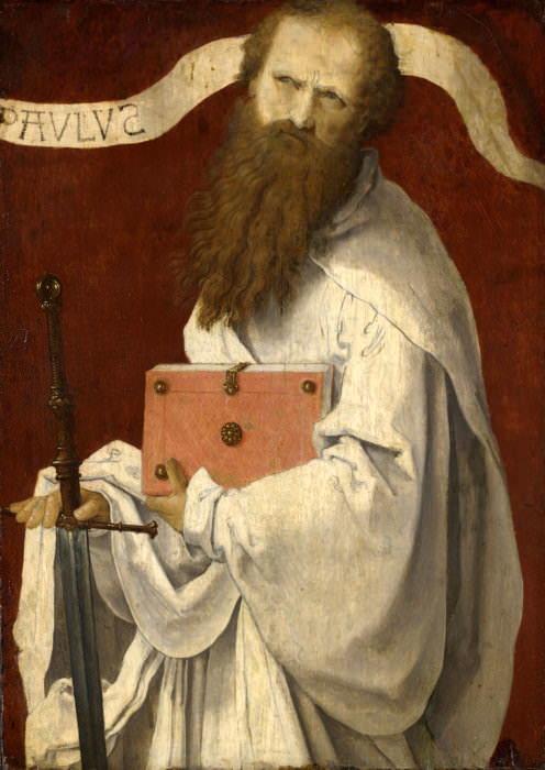 Saint Paul. Lucas Van Leyden (Attributed)
