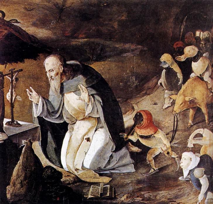 Искушение святого Антония. Лукас ван Лейден