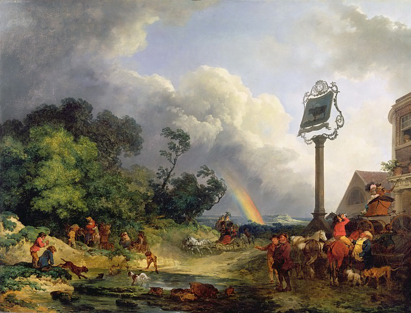 The Rainbow. Philip James de Loutherbourg
