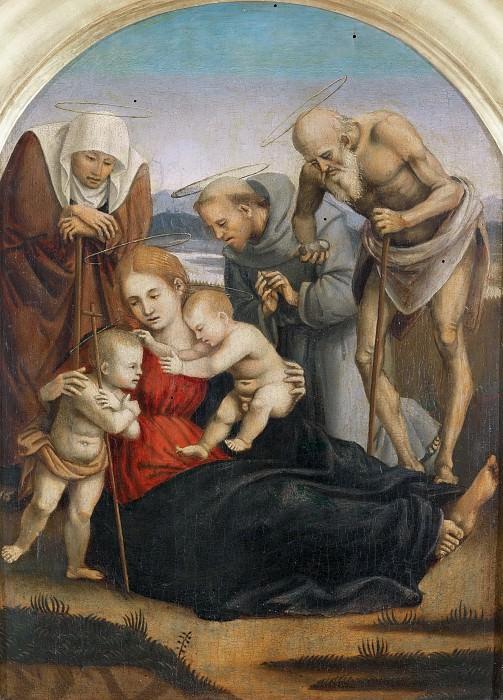 The Holy Family (Attr). Tommaso Bernabei