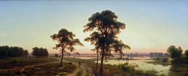 Silesian Landscape. Karl Friedrich Lessing
