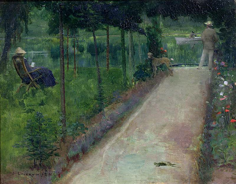A Grey Summers Day, Grez. Sir John Lavery