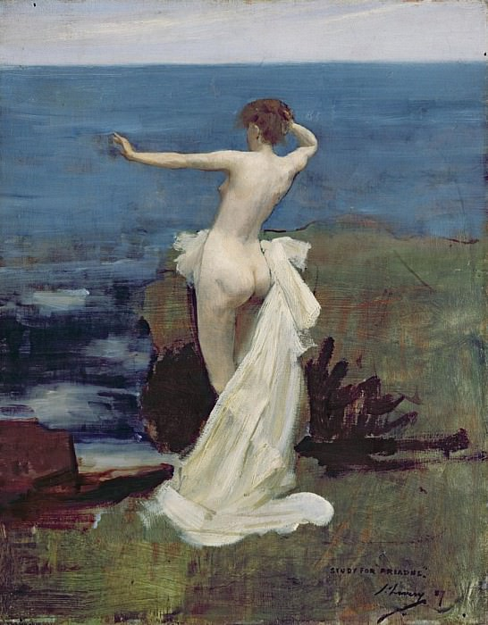 Study for Ariadne. Sir John Lavery