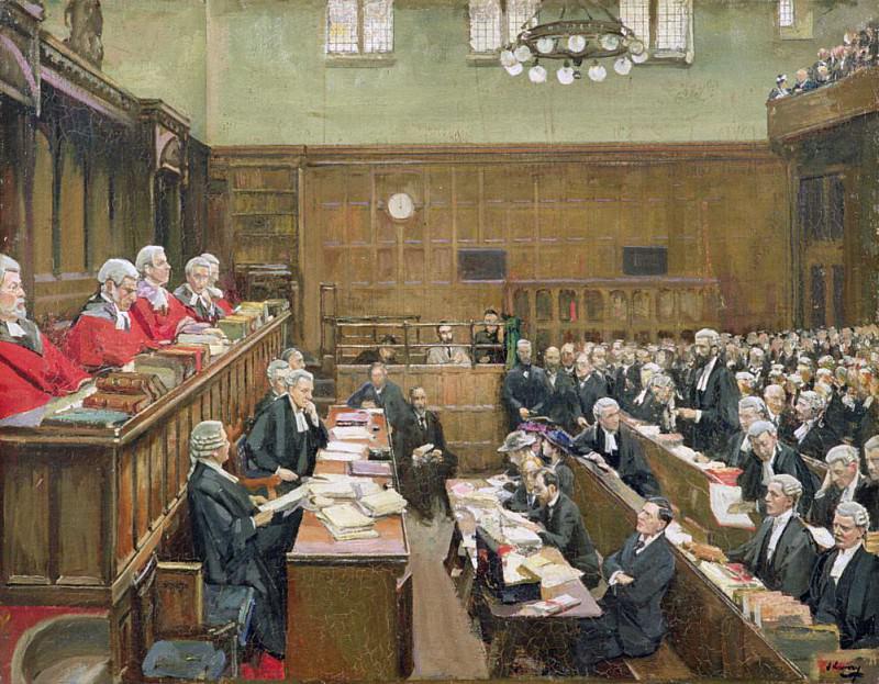 Суд по уголовным делам, Лондон. сэр Джон Лавери