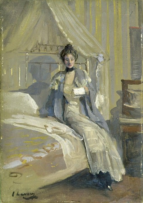 The Letter. Sir John Lavery