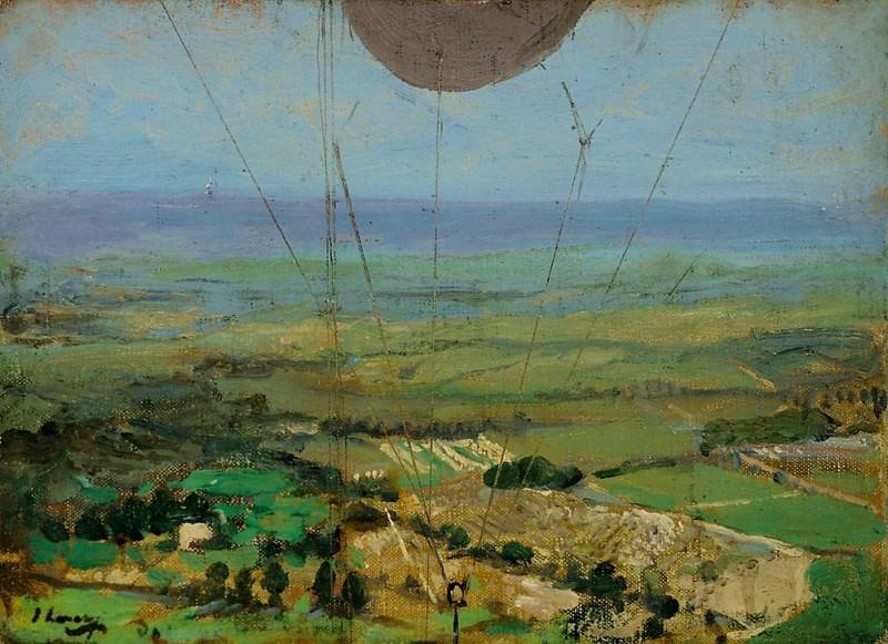 From a Kite Balloon, Roehampton. Sir John Lavery