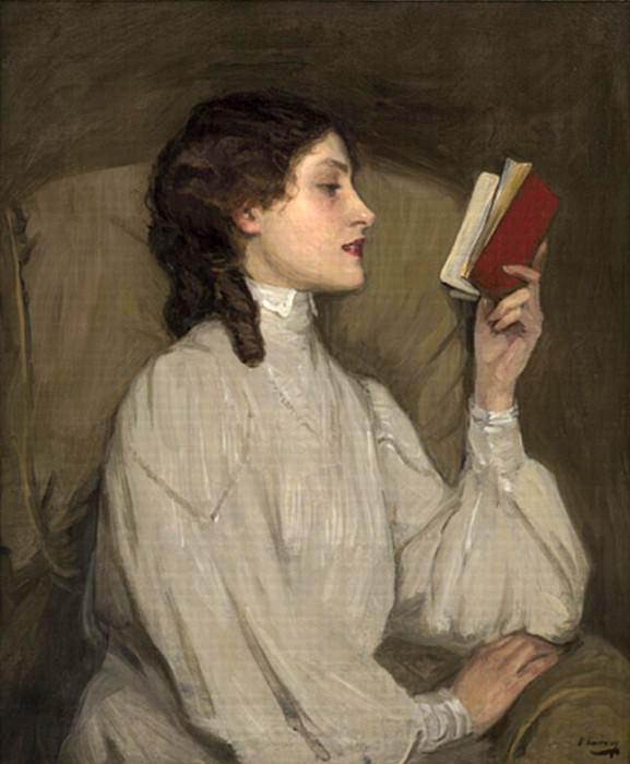 Мисс Аурас, Красная книга. сэр Джон Лавери