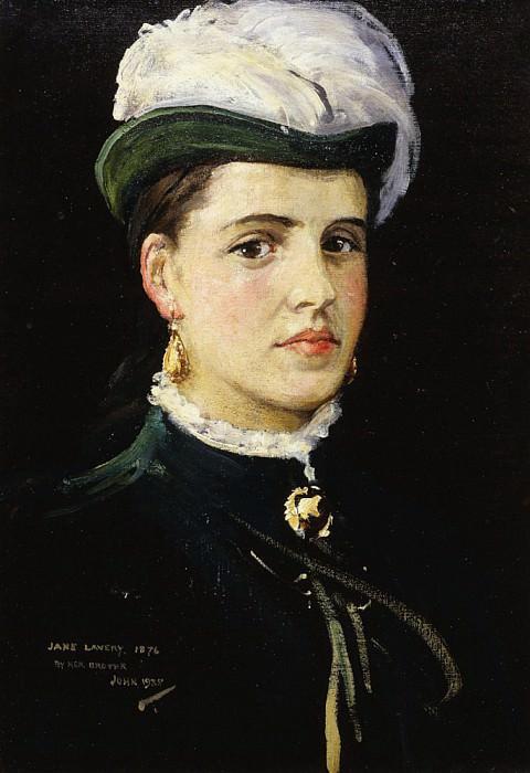 Посмертный портрет Джейн Лавери. сэр Джон Лавери