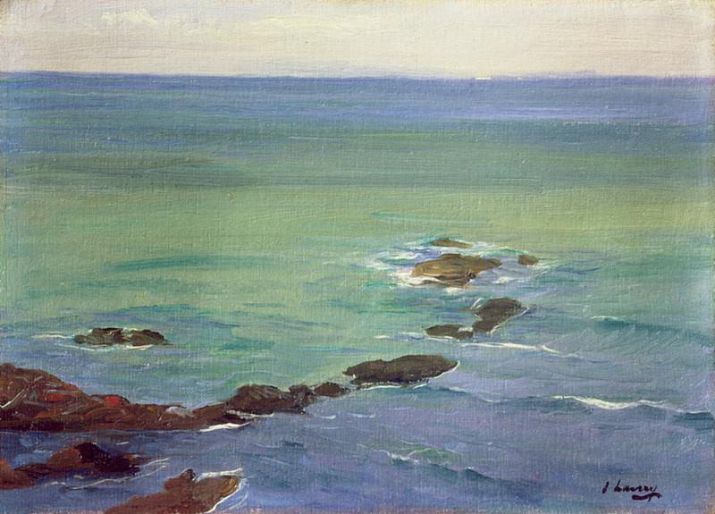 Прибрежный пейзаж. сэр Джон Лавери