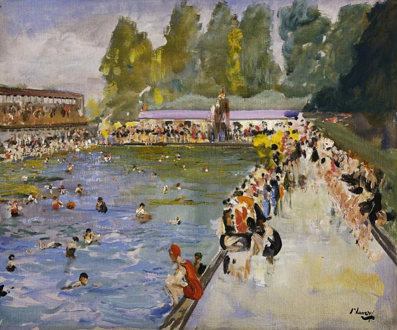 Chiswick Baths. Sir John Lavery