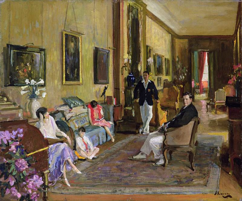 Count John McCormack and his Family. Sir John Lavery