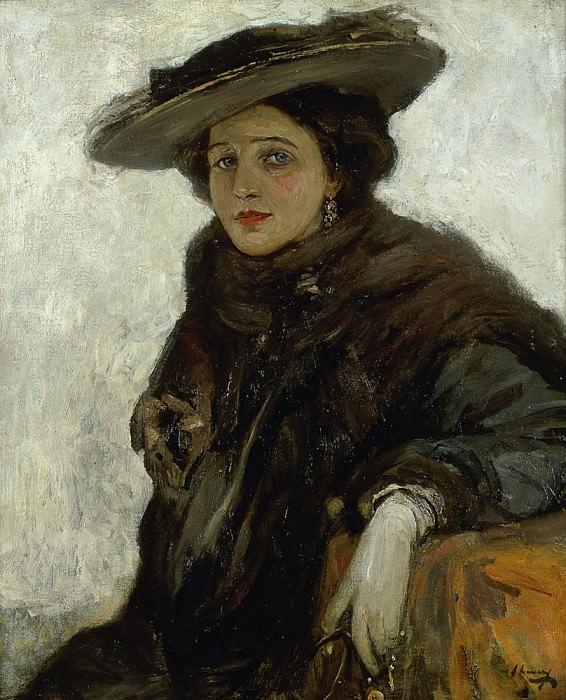 Испанская шляпа или г-жа Жерар Чауни. сэр Джон Лавери