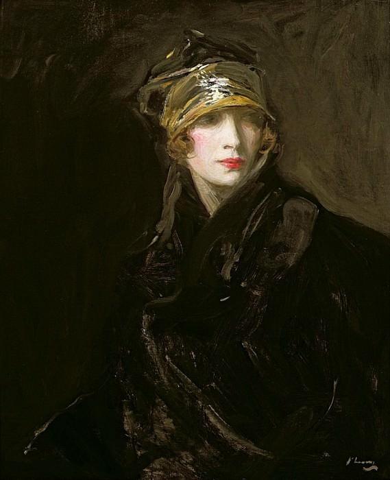 The Golden Turban. Sir John Lavery