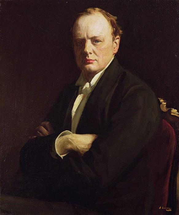 Сэр Уинстон Черчилль. сэр Джон Лавери