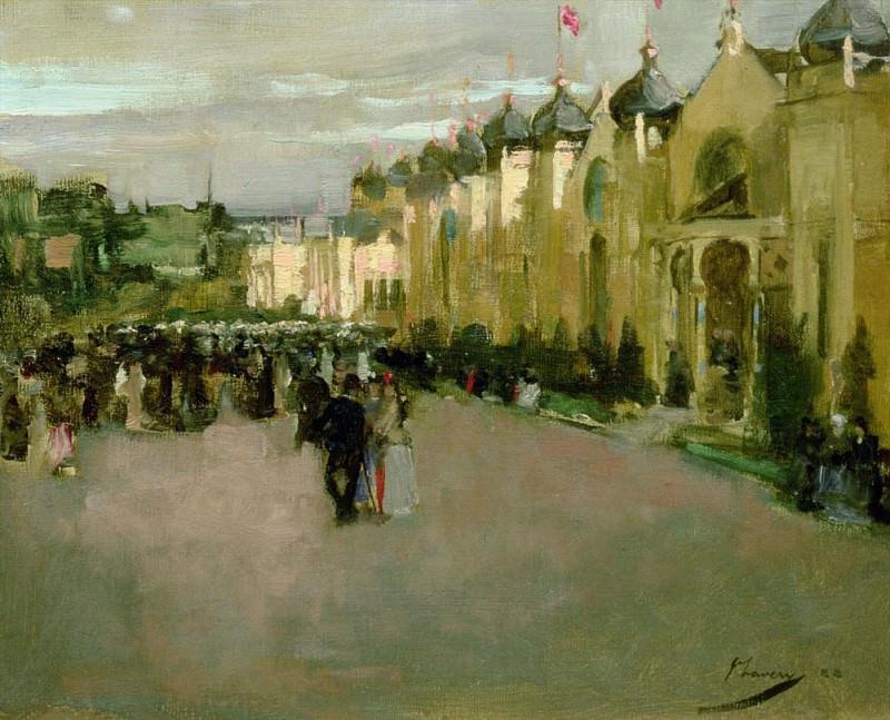 Glasgow, International Exhibition. Sir John Lavery