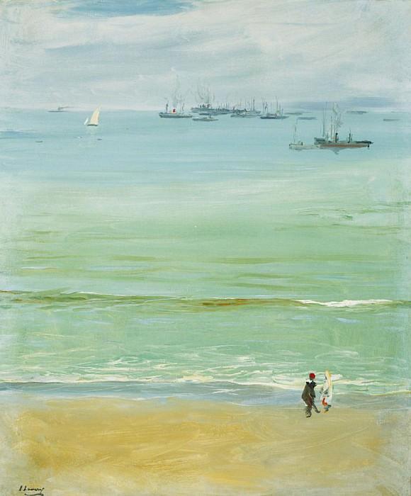 A Calm Day, Tangier Bay. Sir John Lavery