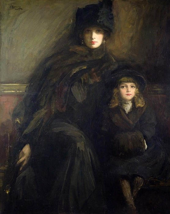 Mother and Child. Sir John Lavery