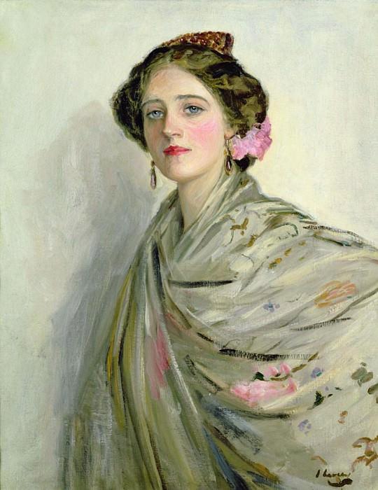 Миссис Чаун, портрет в испанском стиле. сэр Джон Лавери