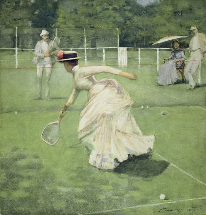 A Rally. Sir John Lavery
