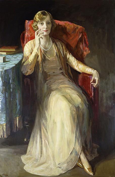 Mrs. W.N. Radford. Sir John Lavery