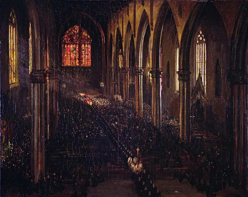 Southwark Cathedral, London. Sir John Lavery