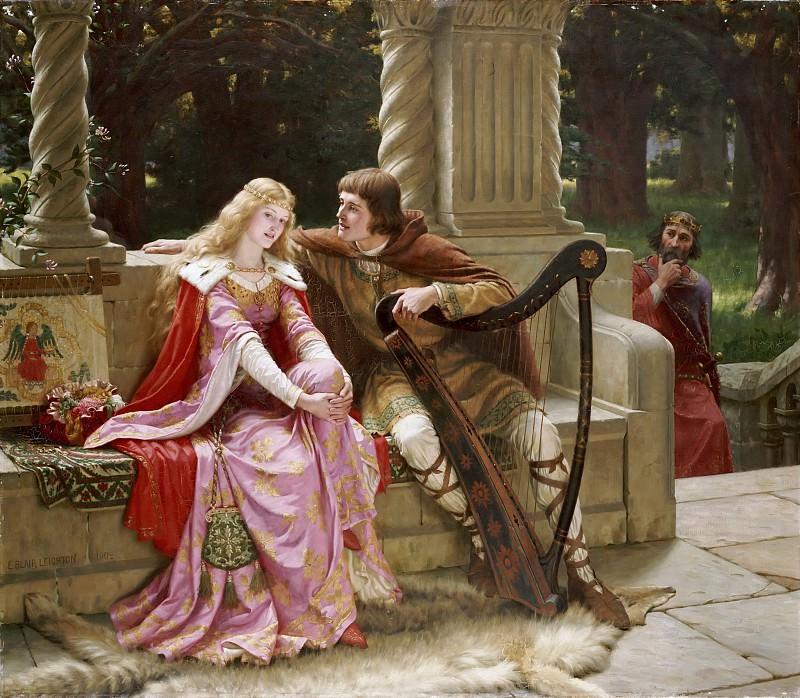 Tristan and Isolde. Edmund Blair Leighton
