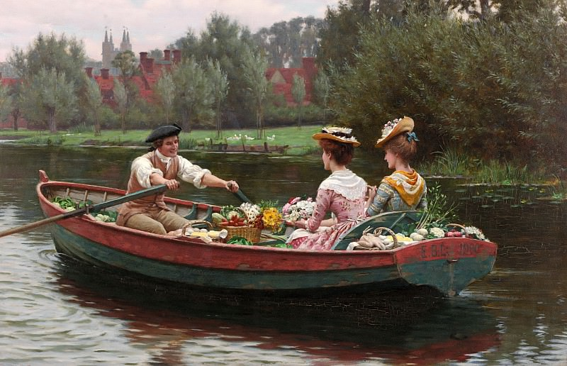 Market Day. Edmund Blair Leighton