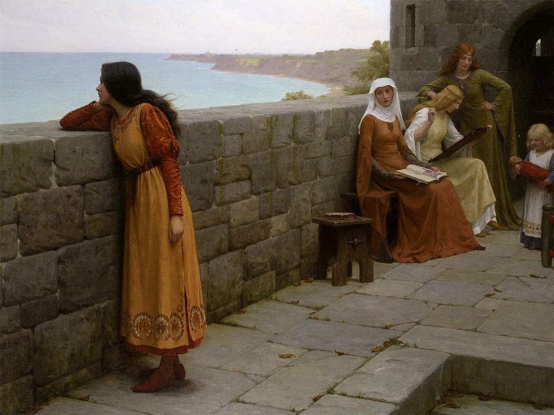 The Hostage. Edmund Blair Leighton