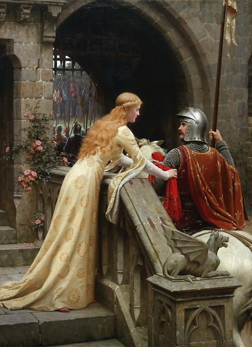 God speed!. Edmund Blair Leighton