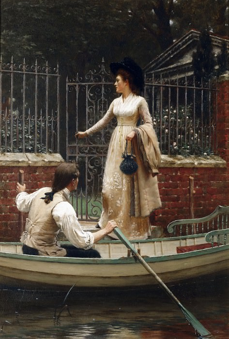The Elopement. Edmund Blair Leighton