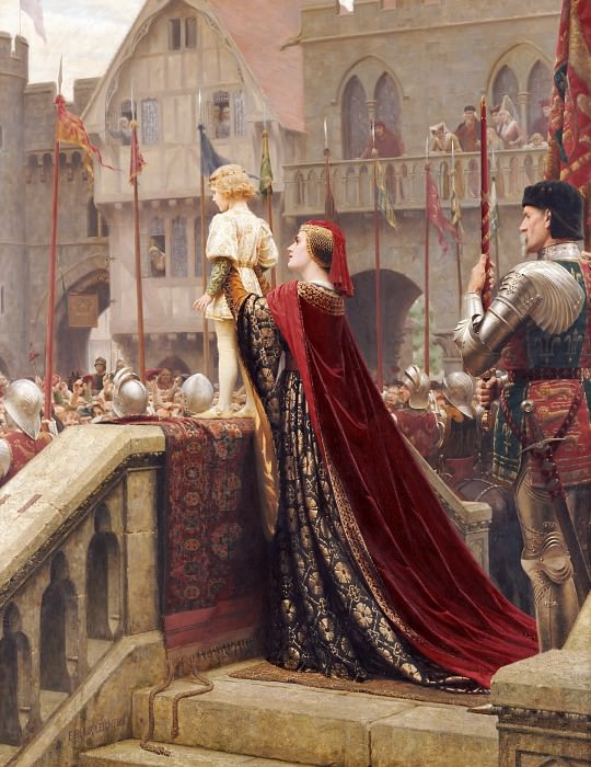 Vox Populi - Voice of the People. Edmund Blair Leighton