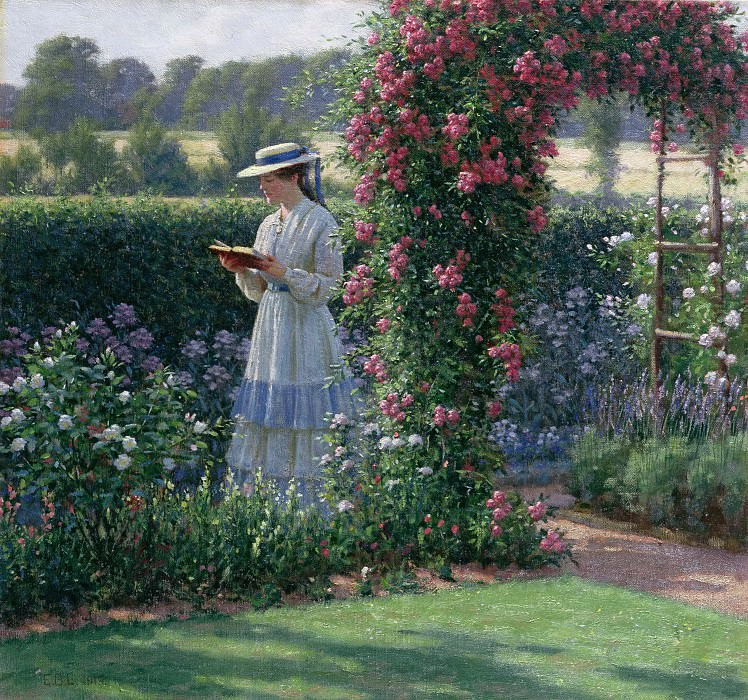 Sweet Solitude. Edmund Blair Leighton
