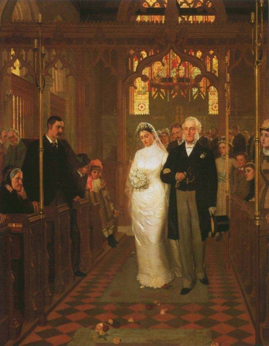 Till Death Us Do Part. Edmund Blair Leighton