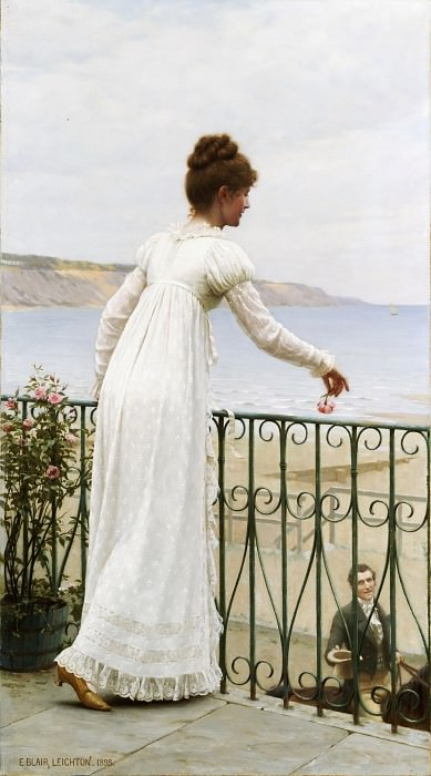 A Favour. Edmund Blair Leighton
