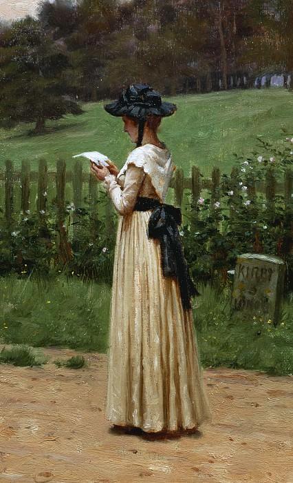 The Love Letter. Edmund Blair Leighton