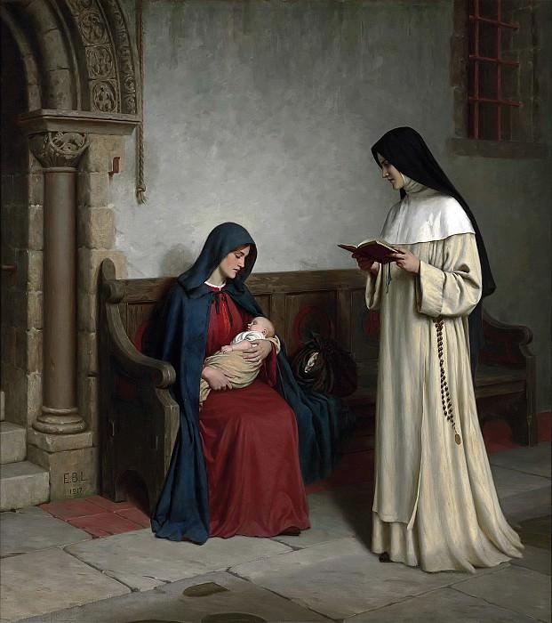 Maternity. Edmund Blair Leighton