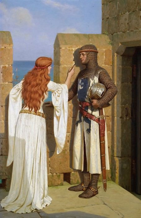 The Shadow. Edmund Blair Leighton