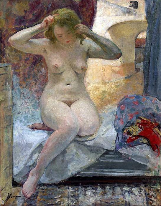 Nude in Cannes. Henri Lebasque