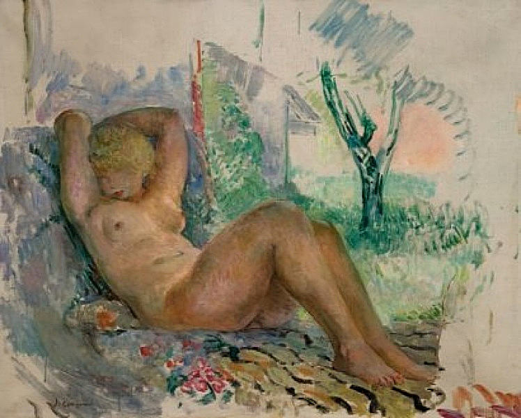Маринетта Эндорми ле Кане, 1934-35. Анри Лебаск