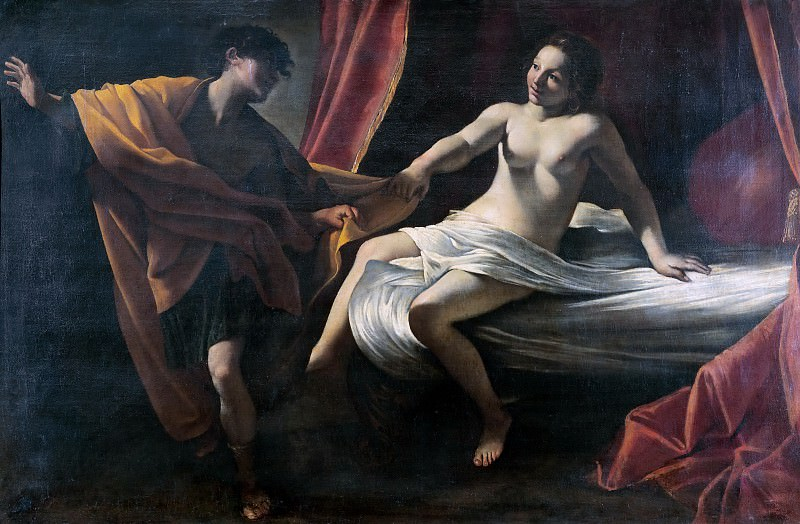 Joseph and Potiphars Wife. Giovanni Lanfranco